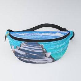Beach in Mexico Fanny Pack