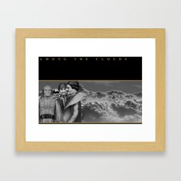 Among The Clouds Framed Art Print