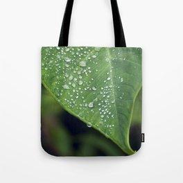 Misty Leaf Tote Bag