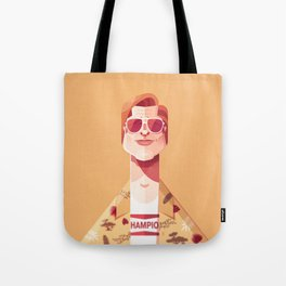 Brad Pitt (Once upon a time in Hollywood). Tote Bag