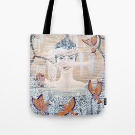 Wisteria tree Tote Bag