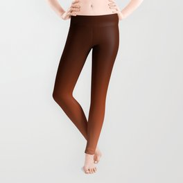 NEW PANTONE FALL 2016 POTTER'S CLAY OMBRE Leggings