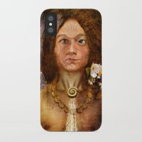 pagan iPhone & iPod Cases featuring Pagan Avatar by Bryan Dechter