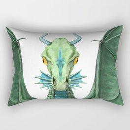 William's Dragon Rectangular Pillow