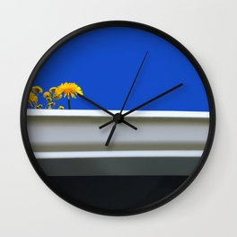 Living in the Gutter Wall Clock