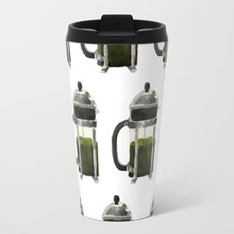 French Press - Olive Green Travel Mug