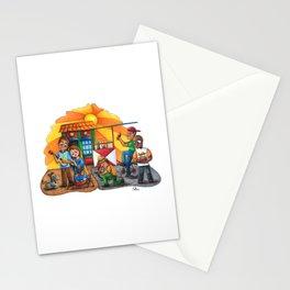 Pesebre de Navidad Maracucho / Christmas Nativity set from Maracaibo Stationery Cards
