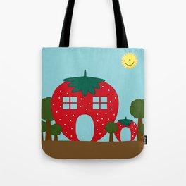 Vege House Tote Bag