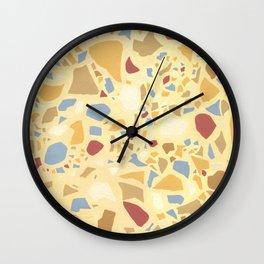 Paintbrush Terrazzo Wall Clock