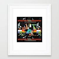 predator Framed Art Prints featuring Predator by Vannina