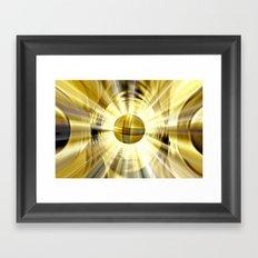 El Dorado. Framed Art Print