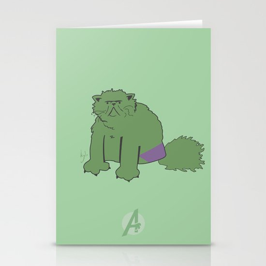 The Incatable Hulk Stationery Cards