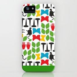 Frida Cutout Pattern iPhone Case