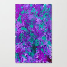 Purple Reign Canvas Print