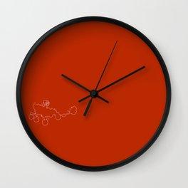Perseverance Rover (Martian Red) Wall Clock