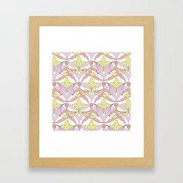 Interwoven XX_Cherry Blossom Framed Art Print
