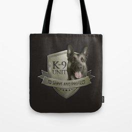 K9 Unit  - Malinois Belgian shepherd -Mechelaar Tote Bag