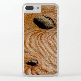 Tierra Roja Clear iPhone Case