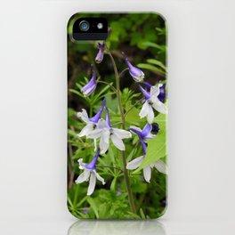 Larkspur iPhone Case