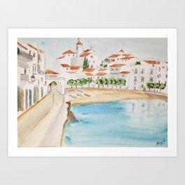 Cadaques, Spain Art Print