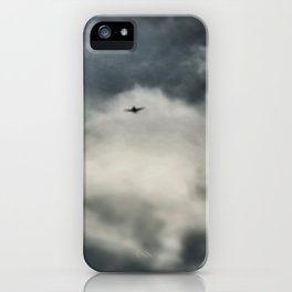 Vol de nuit - © Gerald Robin iPhone Case