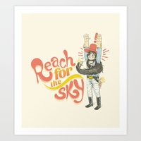 Reach for the Sky Art Print