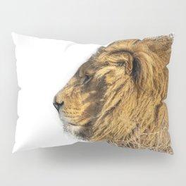 Lion Head Splatter Pillow Sham