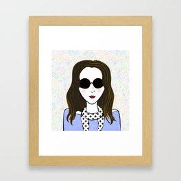 Karrie Framed Art Print