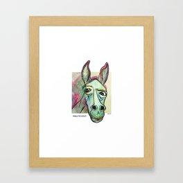 Pablo Pic-Ass-O Framed Art Print