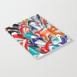 Trippy Pop Fluid II Notebook