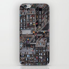 Parisian Neighbourhood iPhone Skin
