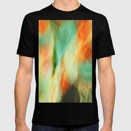 Abstract Art II Blue/Black/Green/Red T-shirt