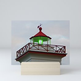Green Lantern of Wood Islands Mini Art Print