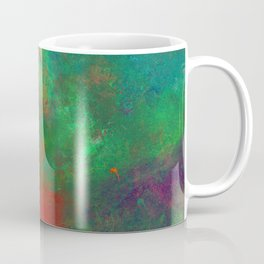 Lose Yourself In Colour (Abstract, textured painting) Coffee Mug