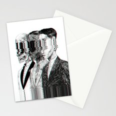 Exquisite corpse Stationery Cards