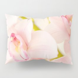 Orchid Flower Bouquet On A Light Background #decor #society6 #homedecor Pillow Sham