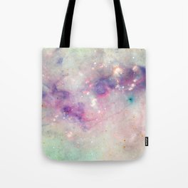 The colors of the galaxy Tote Bag