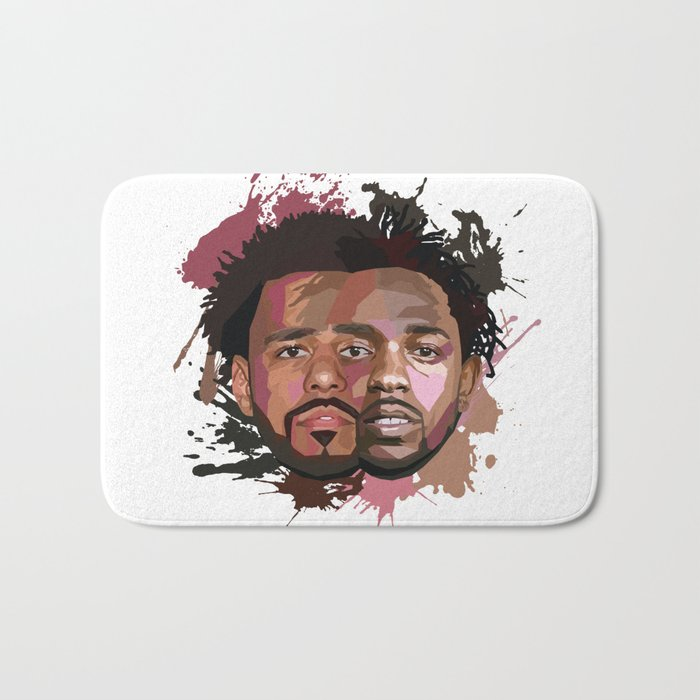 Kendrick Lamar + J Cole Bath Mat