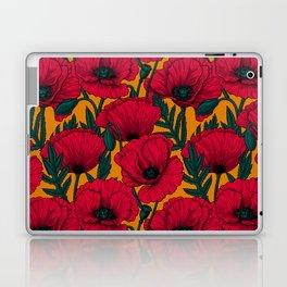 Red poppy garden    Laptop & iPad Skin