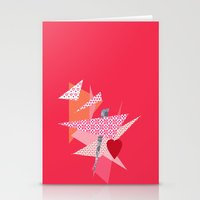 valentines Stationery Cards featuring Valentines Abstract by secretgardenphotography [Nicola]