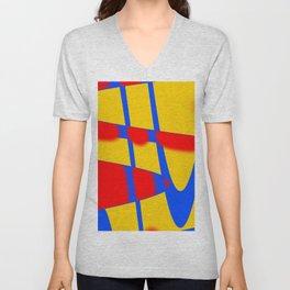 A arte das formas e cores!! Unisex V-Neck