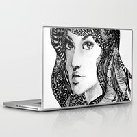 oriental Laptop & iPad Skins featuring Oriental by Judy Hung