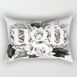 Ugh Floral Rectangular Pillow