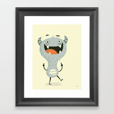 Mindless Happiness Framed Art Print