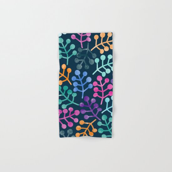 Colorful Leaves XII Hand & Bath Towel