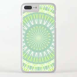 Lemon - Rays L of Alphabet collection Clear iPhone Case