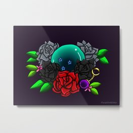 June Birthstone Dragonball #3 Metal Print