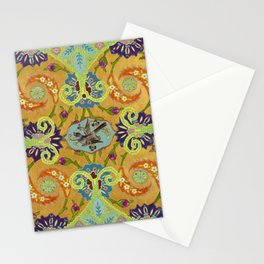 World Quilt - Panel #1 Stationery Cards