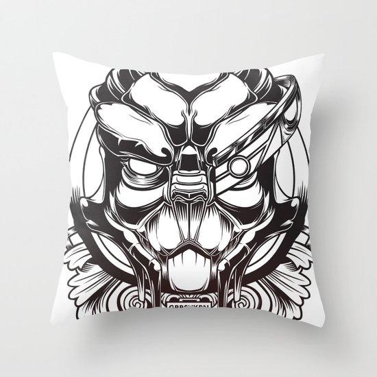Mass Effect. Garrus Vakarian Throw Pillow