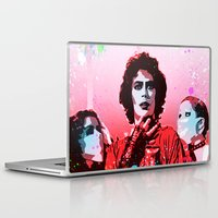 rocky horror Laptop & iPad Skins featuring The Rocky Horror Picture Show - Pop Art by William Cuccio aka WCSmack
